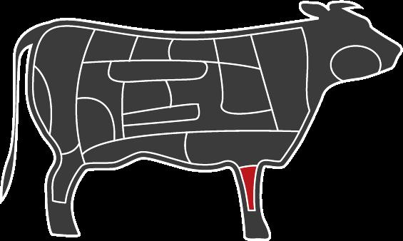 Charolais Osso Bucco (1-2 hetes érlelés)